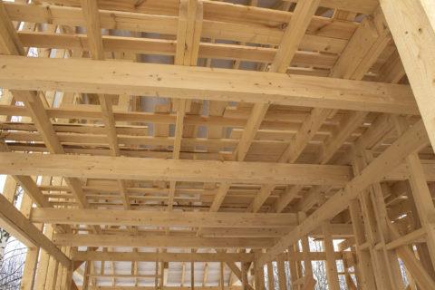 Строительство каркасного дома по проекту КД-052 в д. Щеченки, Смоленского района