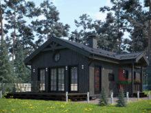 Проект каркасного дома ЭльБрус КД 064 - Общий вид