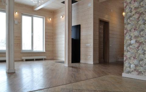 Завершена внутренняя отделка в каркасном доме по проекту КД 029 в СНТ «Фауна», Ломоносовского района