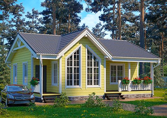Дачные (каркасно-щитовые) дома