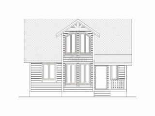 Каркасный дом ЭльБрус КД 015 - Фасад 1