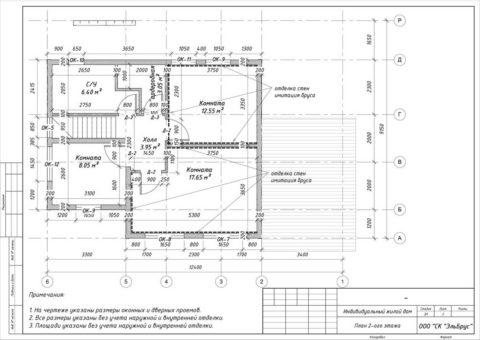 Каркасного дома в комплектации «C отделкой + Инженерный пакет» по проекту КД 029, КП «Сосновские Озера – 2» - План 2-ого этажа