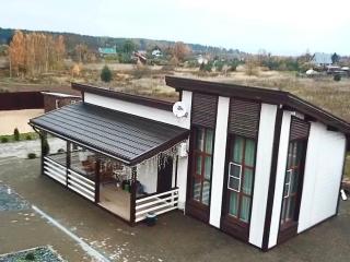 Каркасная баня по проекту Б 006 в д. Калки, Псковская область