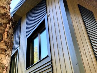 Каркасный дом по проекту КД 019 в д. Муя, Кировский район