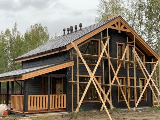 Каркасный дом по проекту КД 033 в комплектации «С отделкой + Инженерный пакет», КП «Кокосы»