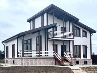 Каркасный дом по проекту КД 047 в д. Калки, Псковская область