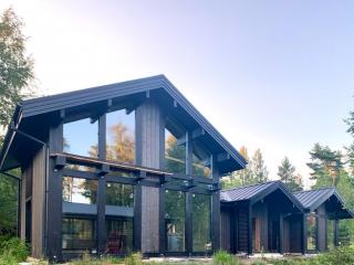Фахверко-каркасный дом по проекту КД 060 в КП «Золотые пески», Выборгский район