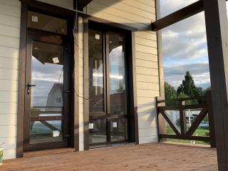 Каркасный дом в комплектации «С отделкой + Инженерный пакет» по проекту КД 066, д. Малые Борницы.