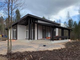 Каркасный дом по проекту КД 069