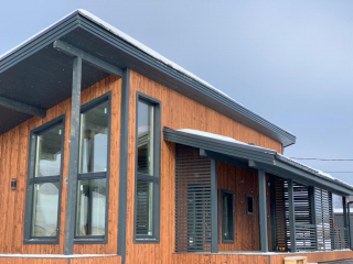 Каркасный дом по проекту КД 069 в ДНП Глубокое, Выборгский район