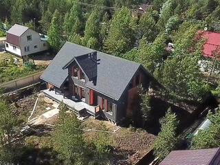 Каркасный дом по проекту КД 076 в СНТ «ГОИ», Всеволожский район