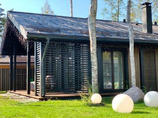 Каркасный дом по проекту КД 019 в КП «Золотые пески», Выборгский район