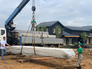 Строительство каркасного дома по доработанному проекту КД 060 в КП Арт Хаус, Московская область, городской округ Истра, д. Бочкино.