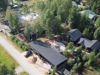 Строительство каркасных домов КД 060, КД 019 и гаража ГР 001 в КП «Золотые пески», Выборгский район