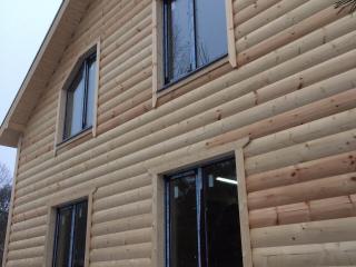 Строительство каркасного дома по индивидуальному проекту в пос. Можайский