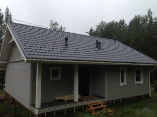 Строительство каркасного дома по индивидуальному проекту в пос. Первомайское