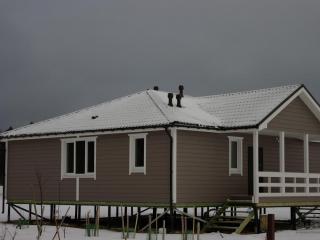 Строительство каркасного дома по проекту КД-009 в коттеджном поселке «Малиновые вечера»