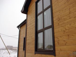 Готовый каркасный дом по проекту КД-014