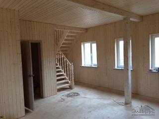 Строительство каркасного дома по проекту КД-022 в СНТ «Тавры»