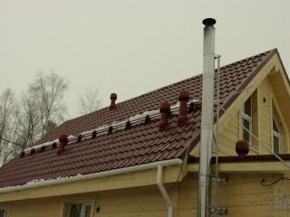 Строительство каркасного дома по проекту КД-027 в СНТ «Фауна» в комплектации «Под ключ»
