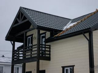 Строительство каркасного дома по проекту КД-032 в СНТ «Красногорское»