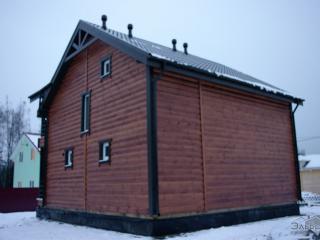 Строительство каркасного дома по проекту КД-032 в пос. Новое Керново
