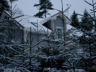Строительство каркасного дома по проекту КД-043 в пос. Орехово