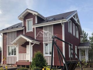 Каркасный дом по проекту КД 043 в комплектации «Закрытый контур», в СНП «Северная Жемчужина»