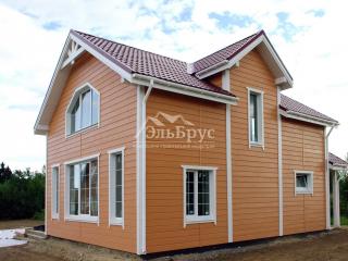 Каркасный дом по проекту КД 043 в комплектации «Закрытый контур», в д. Снегиревка