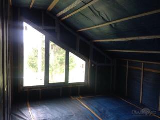 Строительство каркасного дома по проекту КД-037 в д. СНТ «Береза 2»