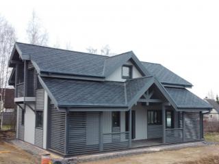 Строительство каркасного дома по проекту КД 013