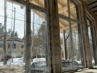 Каркасный дом по проекту КД 019, Золотые пески