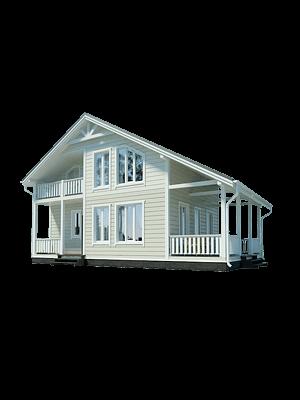 Каркасный дом - проект КД 012