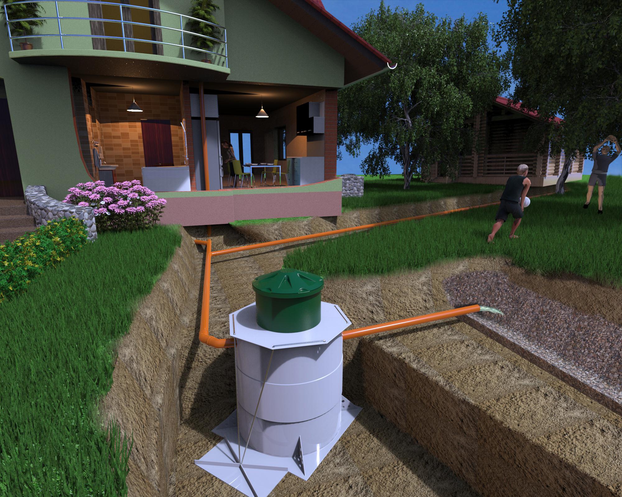 Станция глубокой биомеханической очистки хозяйственно-бытовых сточных вод Kolo Vesi 5 (Финляндия)