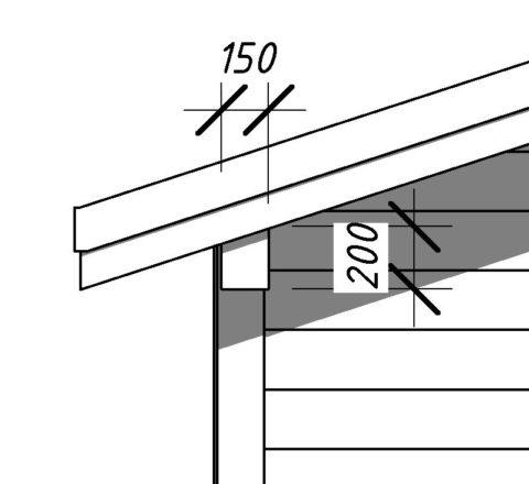Мауэрлат – сечение 150x200 мм